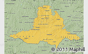 Savanna Style Map of Jihomoravský kraj
