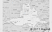 Silver Style Map of Jihomoravský kraj