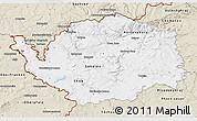 Classic Style 3D Map of Karlovarský kraj