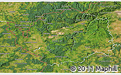 Satellite 3D Map of Karlovarský kraj
