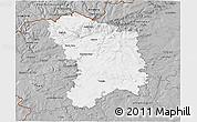 Gray 3D Map of Karlovy Vary