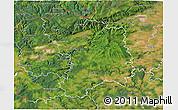 Satellite 3D Map of Karlovy Vary