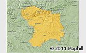 Savanna Style 3D Map of Karlovy Vary
