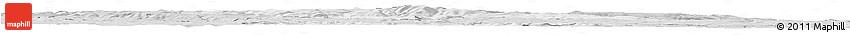 Silver Style Horizon Map of Karlovy Vary