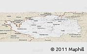 Classic Style Panoramic Map of Karlovarský kraj