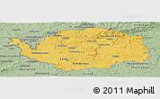 Savanna Style Panoramic Map of Karlovarský kraj