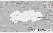 Gray 3D Map of Hradec Králové