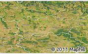 Satellite 3D Map of Hradec Králové