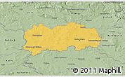 Savanna Style 3D Map of Hradec Králové