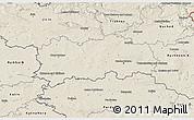 Shaded Relief 3D Map of Hradec Králové