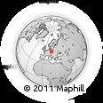 Outline Map of Jablonec N.N.