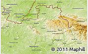 Physical 3D Map of Liberec