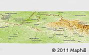Physical Panoramic Map of Liberec