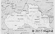 Silver Style Map of Liberecký kraj