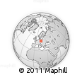 Outline Map of Semily