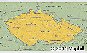 Savanna Style Map of Czech Republic