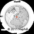 Outline Map of Bruntál