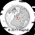 Outline Map of Frýdek-Místek