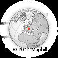 Outline Map of Šumperk