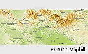 Physical Panoramic Map of Šumperk