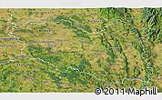 Satellite 3D Map of Pardubický kraj