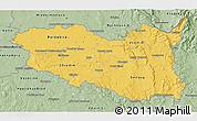 Savanna Style 3D Map of Pardubický kraj