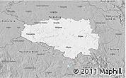 Gray 3D Map of Chrudim