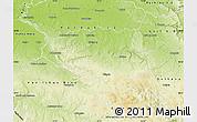 Physical Map of Chrudim