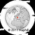 Outline Map of Chrudim