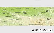 Physical Panoramic Map of Chrudim