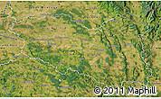 Satellite Map of Pardubický kraj