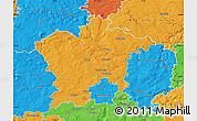 Political Map of Plzeň-sever