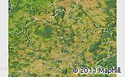 Satellite Map of Plzeň-sever