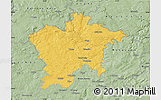 Savanna Style Map of Plzeň-sever