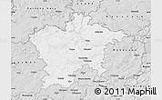 Silver Style Map of Plzeň-sever