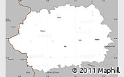 Gray Simple Map of Tachov