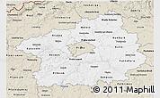 Classic Style 3D Map of Středočeský kraj