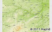 Physical Map of Beroun