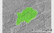 Political Map of Beroun, desaturated