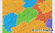 Political Map of Beroun