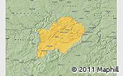 Savanna Style Map of Beroun