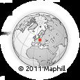 Outline Map of Beroun