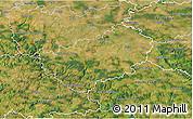Satellite 3D Map of Kutná Hora