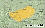 Savanna Style 3D Map of Kutná Hora