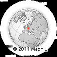 Outline Map of Mělník