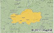 Savanna Style 3D Map of Nymburk