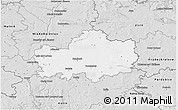 Silver Style 3D Map of Nymburk