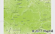 Physical Map of Nymburk