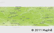 Physical Panoramic Map of Nymburk
