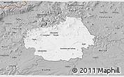 Gray 3D Map of Litoměřice